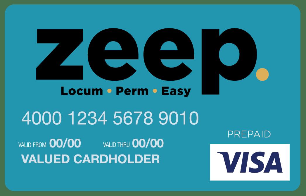 Zeep VISA Credit Card