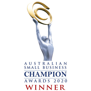 Australian Small Business Champions Award 2020 WINNER